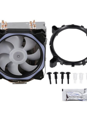 xueyufengshen cpu cooler 4 pure copper12cm heat pipe cooling tower cooling system 12cmcpu fan cpu radiator forfor amd in1
