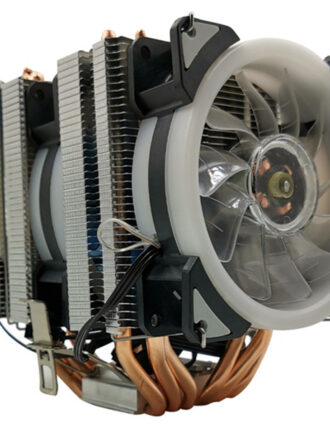 xueyufengshen cpu cooler 6 pure copper heat pipe cooling tower cooling system 9cmcpu fan cpu radiator for amd