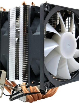 xueyufengshen cpu cooler 6 pure copper heat pipe cooling tower cooling system cpu fan radiator for lga1150/1155/11561